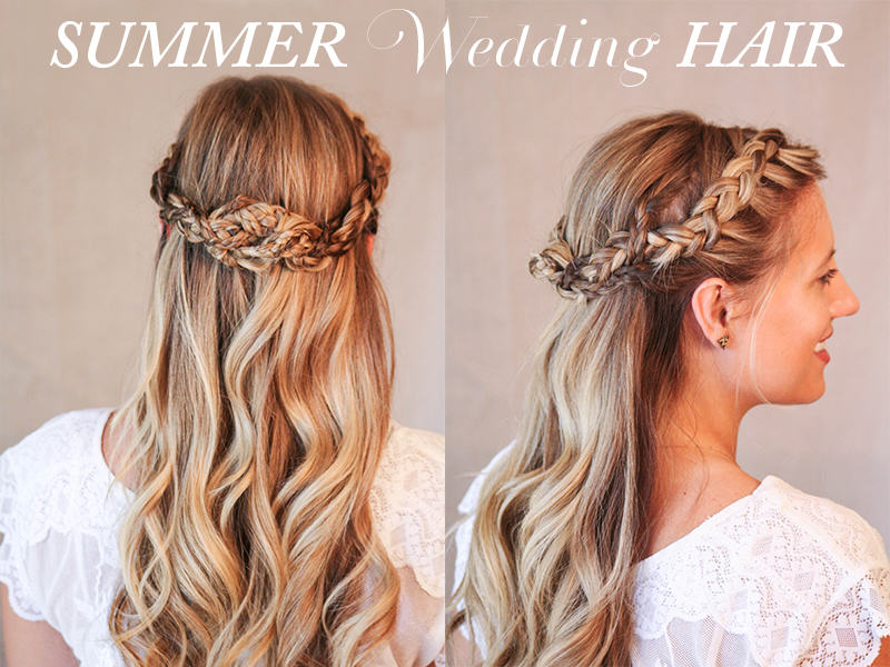Summer Wedding Hairstyles For Medium Hair : Wedding hairstyles pretty pleased